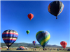 Hot Air Balloons Leaving the Ground